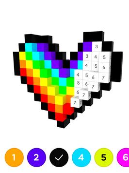 3D No.Draw – Color by Number imagem de tela 9