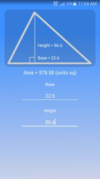 Triangle Area Calculator for Android - APK Download