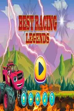 Offroad Hills Race poster