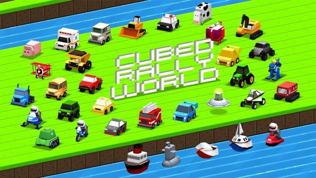 Cubed Rally World постер