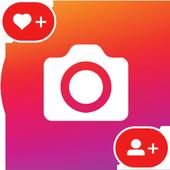 Popularity in Instagram icon
