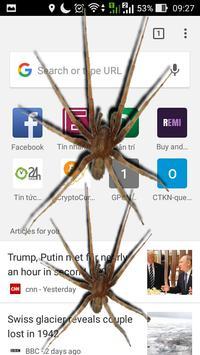 Spider On Screen Scary Joke - Hissing Joke screenshot 3