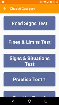 florida drivers road signs practice test