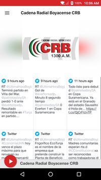 Cadena Radial Boyacense CRB poster
