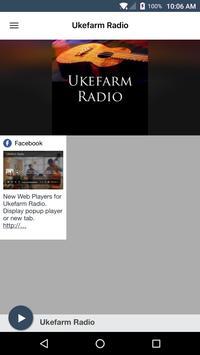 Ukefarm Radio poster