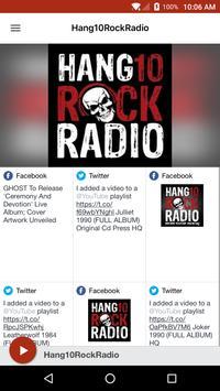 Hang10RockRadio poster