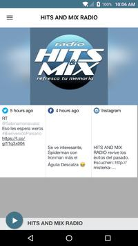 HITS AND MIX RADIO poster