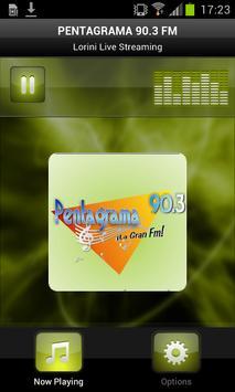 PENTAGRAMA 90.3 FM poster