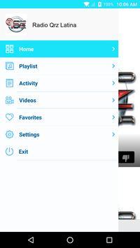 Radio Qrz Latina screenshot 1