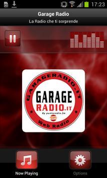 Garage Radio poster