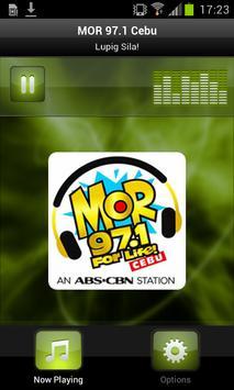 MOR 97.1 Cebu poster