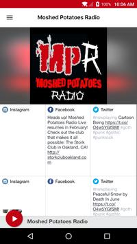 Moshed Potatoes Radio poster