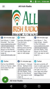 All Irish Radio poster