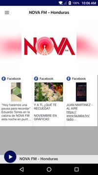 NOVA FM - Honduras poster
