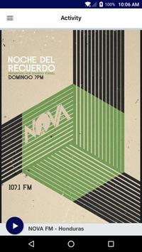 NOVA FM - Honduras apk screenshot