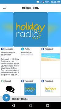 Holiday Radio. poster