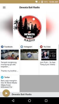 Dewata Bali Radio poster
