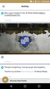 Dewata Bali Radio apk screenshot