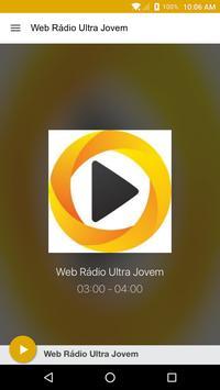 Web Rádio Ultra Jovem poster