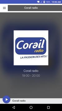Corail radio poster
