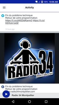 Radio 34 Montpellier screenshot 1