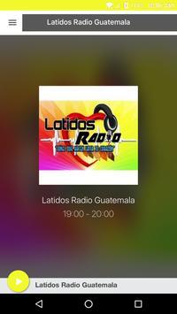Latidos Radio Guatemala poster