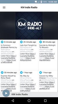 KM Radio poster