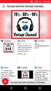 70S 80S 90S RIW VINTAGE CHANNEL. poster
