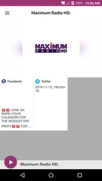Maximum Radio HD. poster