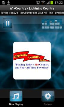 A1-Country - Lightning Country poster