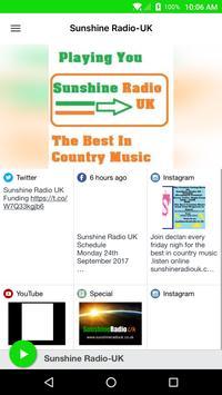 Sunshine Radio-UK poster