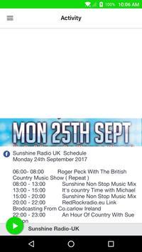 Sunshine Radio-UK screenshot 1