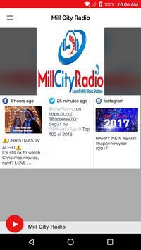 Mill City Radio poster