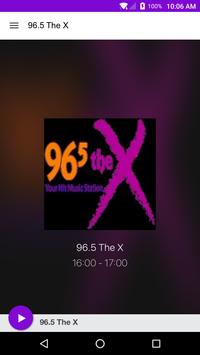 96.5 The X poster