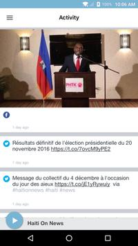 Haiti On News screenshot 1