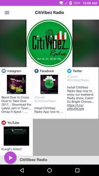 CitiVibez Radio poster