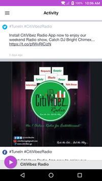CitiVibez Radio screenshot 1