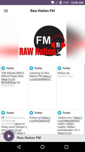Raw Nation FM for Android - APK Download