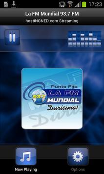 La FM Mundial 93.7 FM poster