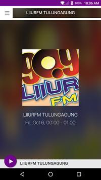 LIIURFM TULUNGAGUNG poster