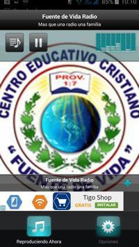 Fuente de Vida Radio apk screenshot