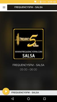 FREQUENCY5FM - SALSA poster