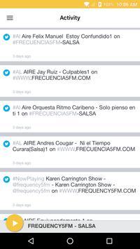 FREQUENCY5FM - SALSA screenshot 1