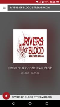 RIVERS OF BLOOD STREAM RADIO poster