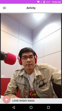 LOVE RADIO NAGA screenshot 1