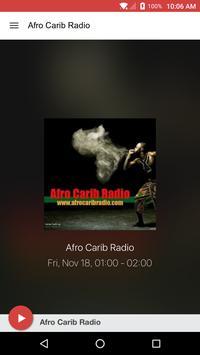 Afro Carib Radio poster