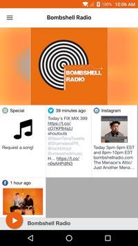 Bombshell Radio poster