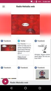 Radio Melodia web poster