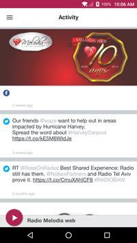 Radio Melodia web apk screenshot