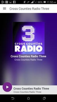 Cross Counties Radio Three poster